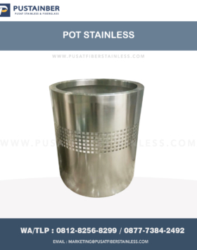 pot stainless steel murah