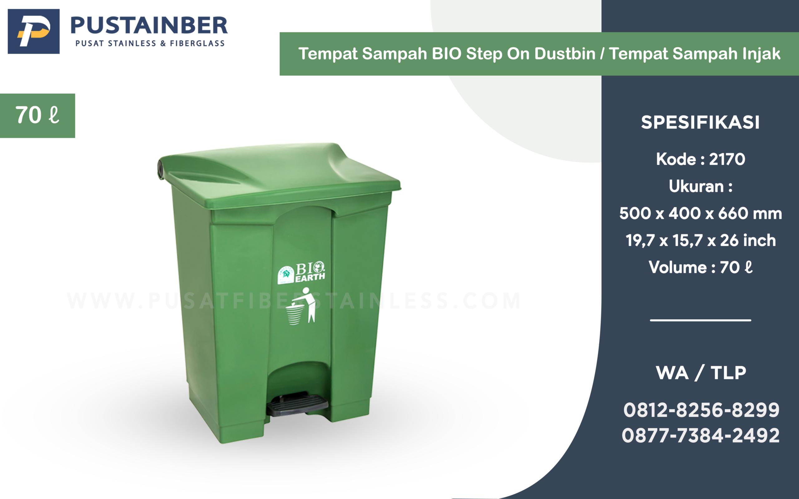 tempat sampah injak,tong sampah plastik bio earth , tempat sampah 70 liter , jual tempat sampah di bandung ,padang,palembang,medan,jepara