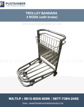jual trolley bandara, jual troli bandara, jual trolley stainless, jual trolley barang stainless, jual trolley stainless steel, jual troli di bandara
