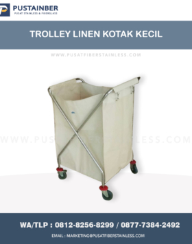 jual trolley laundry, jual troli laundry, jual trolley laundry rumah sakit, jual troli pakaian, jual trolley laundry stainless
